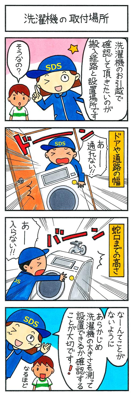洗濯機の取付場所